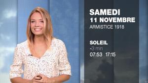 Gennifer Demey à la Météo du Soir - 10/11/17 - 15