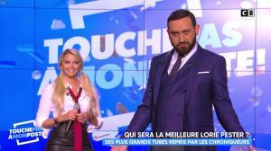Kelly Vedovelli dans Touche pas à mon Poste - 16/11/17 - 13