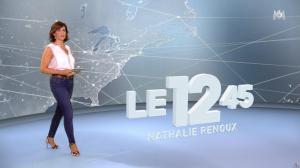 Nathalie Renoux dans le 12-45 - 17/09/17 - 04