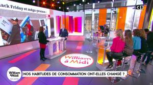 Sandrine Arcizet dans William à Midi - 24/11/17 - 05