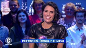 Alessandra Sublet dans c'est Canteloup - 31/10/18 - 14