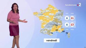 Anaïs Baydemir à la Météo de Midi - 31/10/18 - 05