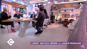 Anne-Elisabeth Lemoine dans C à Vous - 23/10/18 - 02