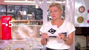 Anne-Elisabeth Lemoine dans C à Vous - 28/09/18 - 01