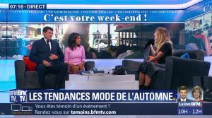 Aurélie Casse et Melody Madar dans Week-End Première - 23/09/18 - 10