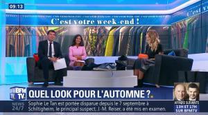 Aurélie Casse et Melody Madar dans Week-End Première - 23/09/18 - 17