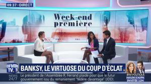Aurélie Casse et Nina Godart dans Week-End Première - 07/10/18 - 08