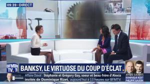 Aurélie Casse et Nina Godart dans Week-End Première - 07/10/18 - 10