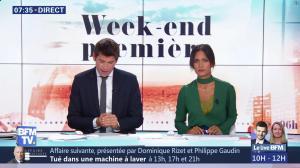 Aurélie Casse dans Week-End Première - 21/10/18 - 08