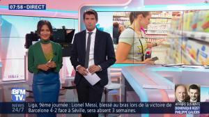 Aurélie Casse dans Week-End Première - 21/10/18 - 10