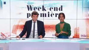 Aurélie Casse dans Week-End Première - 21/10/18 - 11