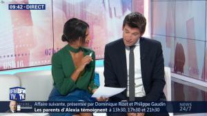 Aurélie Casse dans Week-End Première - 21/10/18 - 15