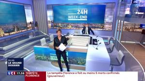 Benedicte Le Chatelier dans 24h le Week-End - 15/09/18 - 01