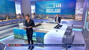 Benedicte Le Chatelier dans 24h le Week-End - 15/09/18 - 02
