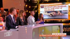 Caroline Ithurbide dans c'est Que de la Télé - 01/10/18 - 05