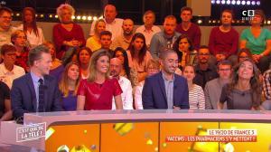 Caroline Ithurbide dans c'est Que de la Télé - 08/10/18 - 03