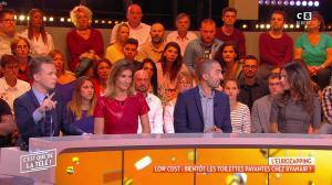 Caroline Ithurbide dans c'est Que de la Télé - 08/10/18 - 05