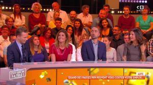 Caroline Ithurbide dans c'est Que de la Télé - 08/10/18 - 07