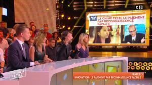 Caroline Ithurbide dans c'est Que de la Télé - 20/09/18 - 05