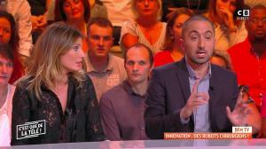 Caroline Ithurbide dans c'est Que de la Télé - 24/09/18 - 05