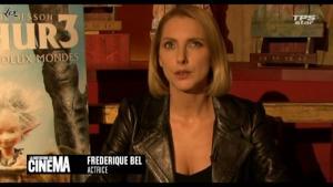 Frédérique Bel dans la Quotidienne Du Cinema - 15/10/10 - 6