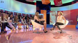 Silvia Toffanin et Katia Pedrotti dans Verissimo - 02/10/10 - 1