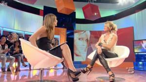 Silvia Toffanin et Katia Pedrotti dans Verissimo - 02/10/10 - 2