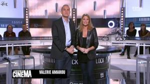 Valérie Amarou dans la Quotidienne Du Cinema - 15/10/10 - 1