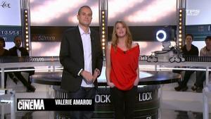 Valérie Amarou dans la Quotidienne Du Cinema - 23/02/11 - 1