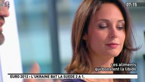 Julia Vignali dans la Matinale - 12/06/12 - 02