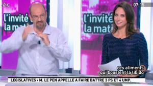 Julia Vignali dans la Matinale - 12/06/12 - 03