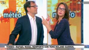 Julia Vignali dans la Matinale - 12/06/12 - 06