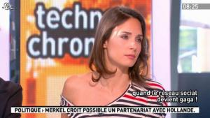 Julia Vignali dans la Matinale - 14/05/12 - 09
