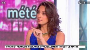 Julia Vignali dans la Matinale - 15/05/12 - 02