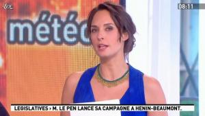 Julia Vignali dans la Matinale - 15/05/12 - 09