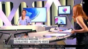 Valérie Amarou sur i-Télé - 13/05/12 - 02