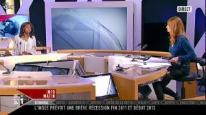 Valérie Amarou sur i-Télé - 17/12/11 - 02