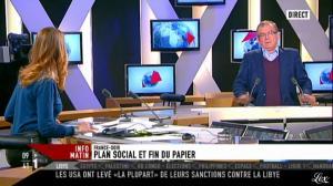 Valérie Amarou sur i-Télé - 17/12/11 - 07