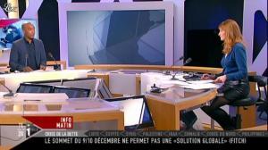 Valérie Amarou sur i-Télé - 17/12/11 - 14
