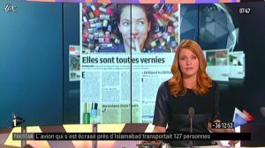 Valérie Amarou sur i-Télé - 21/04/12 - 07