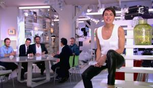 Alessandra Sublet dans C à Vous - 28/06/13 - 03