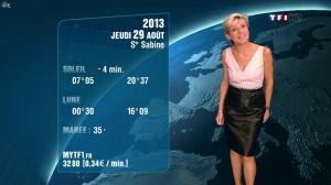 Evelyne Dhéliat à la Météo de 20h - 14/10/13 - 03