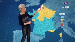 Evelyne Dhéliat à la Météo de 20h - 25/09/13 - 02