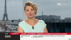 France Pierron dans Menu Sport - 30/07/13 - 03