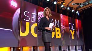 Isabelle Ithurburu dans la Seance Rugby - 02/10/13 - 06