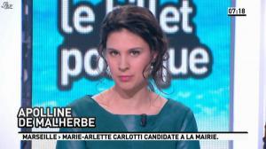 Apolline De Malherbe dans la Matinale - 21/03/13 - 03
