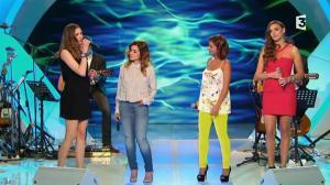 Camille Lou et Alexandra Maquet dans les Chansons d'Abord - 14/05/14 - 16
