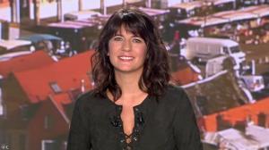 Estelle Denis lors du Tirage du Loto - 10/09/14 - 04