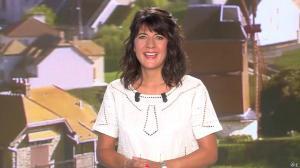 Estelle Denis lors du Tirage du Loto - 30/08/14 - 01