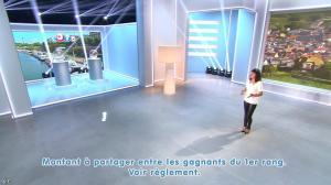 Estelle Denis lors du Tirage du Loto - 30/08/14 - 03